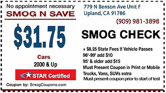 31 75 Smog Check With Coupon Near Me Star Certified